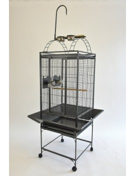 "20X20"" Play Top Parrot Bird Cage for Conure Cockatiel Quaker"