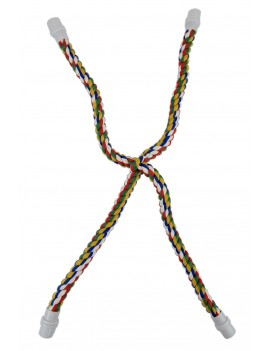 Rainbow Cross Cotton Rope...