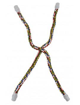 Rainbow Cross Cotton Rope...