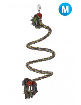 Bungee Rope Bird Perch Medium