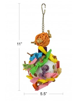Play and Chew Bird Toy Large