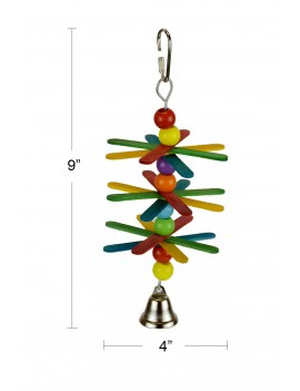 Whirly Flower Parrot Bird Toy