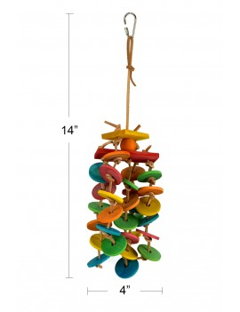 Spinning Falls Bird Toy