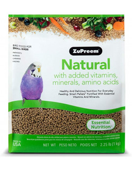 ZuPreem Natural Small Bird Food  (2.25lbs)