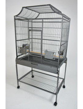 "32x21"" Large Elegant Victorian Top Parrot Bird Flight Cage"