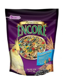 Brown's Encore Premium Cockatiel Bird Food (2 lb)