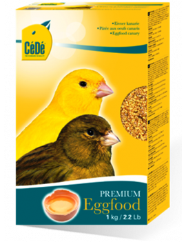 CeDe Egg Food for Canary (1kg or 2.2lbs)