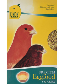 CeDe Canary Egg Food Red (1kg or 2.2lbs)