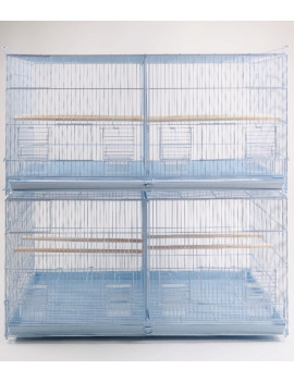 """36x18X18"""" Spacious Stackable Parrot Bird Breeding Cage (set of of 2 cages)"""