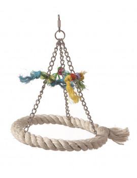 Medium Sisal Ring Swing for...