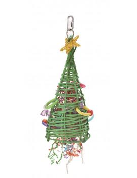 Large Christmas Tree Parrot Bird Toy