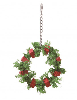 Christmas Wreath Parrot...