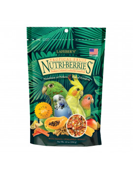 Lafeber's Tropical Fruit Nutri-Berries for Small Parrots 10oz