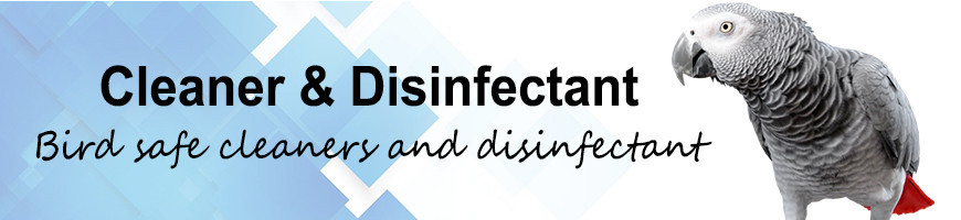 Bird Cleaners and Disinfectant | Petsfella.com
