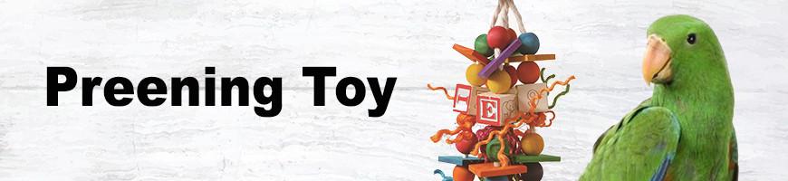 Preening Toys for Birds and Parrots   Petsfella.com
