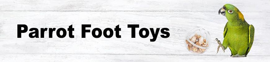 Foot Toys for Birds and Parrots   Petsfella.com